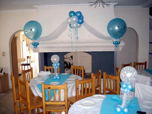 Globoflex decoraci n con globos bodas xv a os - Decoracion con bombas para baby shower ...