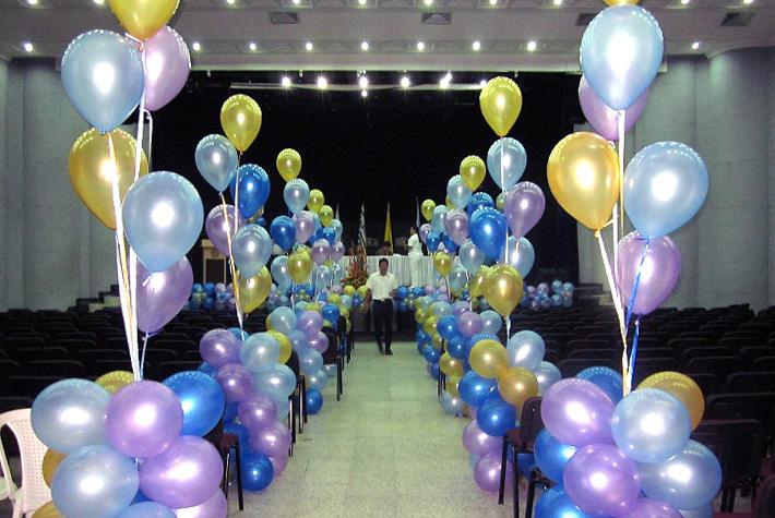 Globoflex decoraci n con globos bodas xv a os for Decoracion de grado