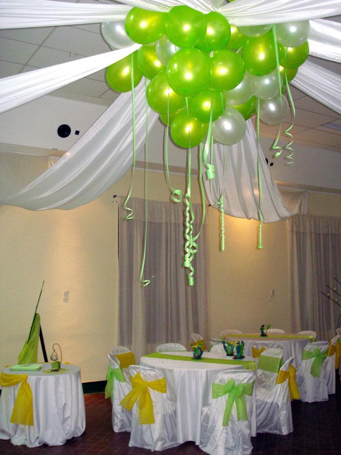 Globoflex decoraci n con globos bodas xv a os for Decoraciones para el techo de mi cuarto